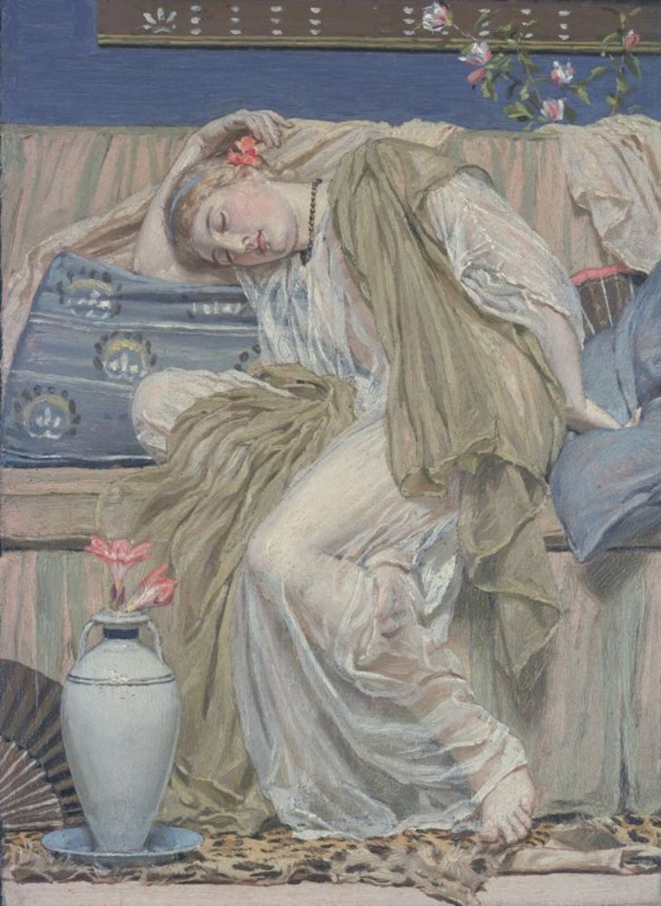 Albert Moore - A Sleeping Girl.jpg